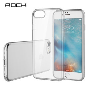 Rock-for-apple-iPhone-7-7-plus-TPU-Silicone-Case-cover-Clear-Ultra-Thin-Back-Cover