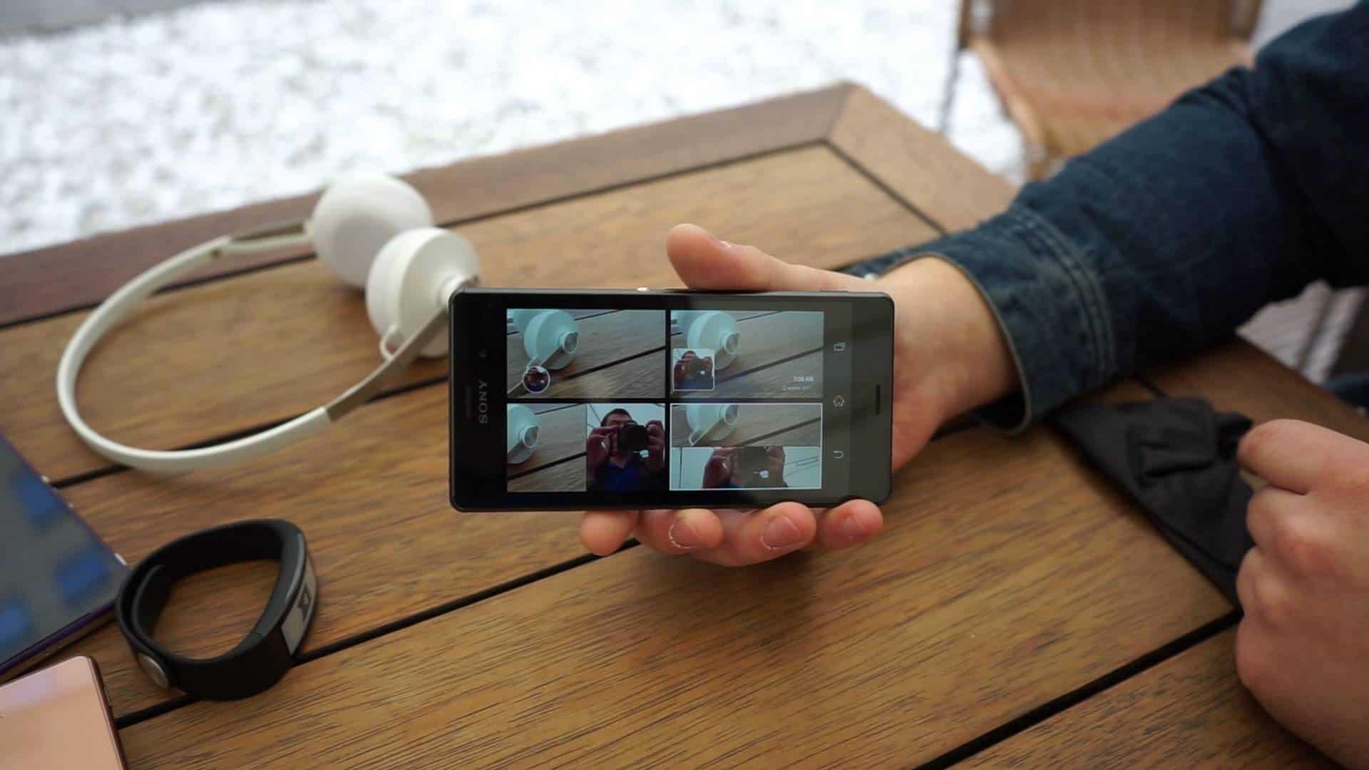 sony z3 камера